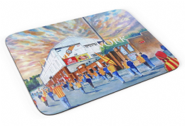 firhill going to the match Premium Quality Mouse mat